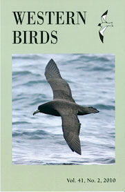 Western Birds 41(2) Front Cover