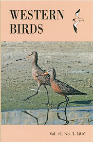 Western Birds 41(3) Front Cover