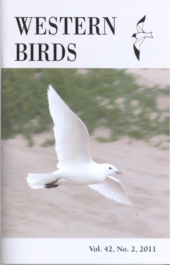 Western Birds 42(2) Front Cover