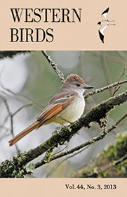 Western Birds 44(3) Front Cover