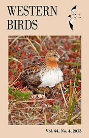 Western Birds 44(4) Front Cover