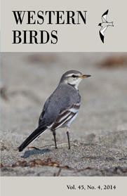 Western Birds 45(1) Front Cover