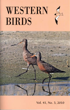 Western Birds 45(4) Front Cover